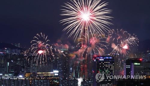 """""""한강 불꽃축제때 행사장 주변 초미세.."""