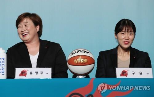 [여자농구개막] ②첫 영남권 연고팀 BNK, 여성 코칭스태프로 새바람 도..