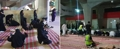 Prayer room at concert