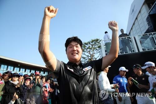 제네시스 챔피언십 우승 임성재, 남자 골프 세계 랭킹 44위