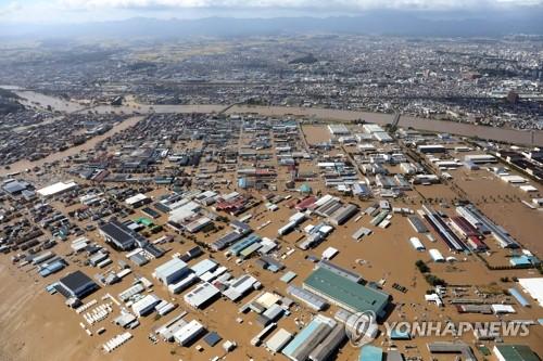 태풍 하기비스 강타 日 사망·실종 50명 넘을듯…동일본 큰 피해