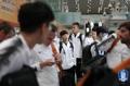 S. Korean nat'l footballers in Beijing