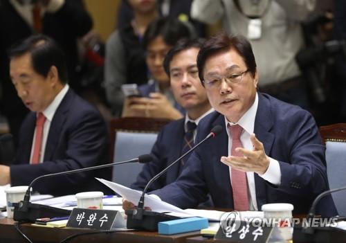"""박완수 """"보령화력 조기 폐쇄 시 지방세·일자리 감소 우려"""""""