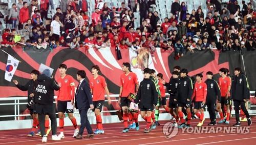 한국-우즈베크 22세 이하 친선전 시청률 3.9%