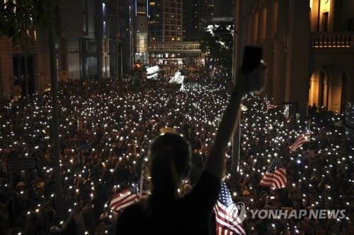 시위 장기화에 홍콩 통화당국 '양적 완화' 정책 실시