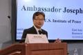 Ex-U.S. envoy at forum