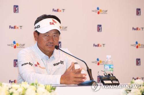 """PGA 투어 CJ컵 출전하는 최경주 """"톱10 욕심 내볼까요"""""""