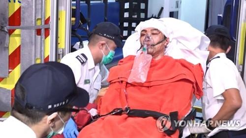 홍콩 '백색테러' 석달 새 9건…지방선거 후보자 겨냥 잇따라