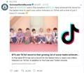 Record de BTS
