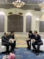 Président Moon et Premier ministre vietnamien