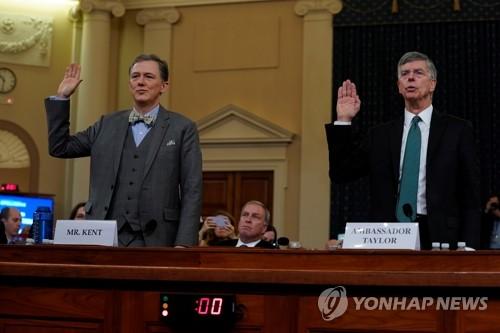 트럼프 탄핵 첫 공개청문회, 1천380만명 시청