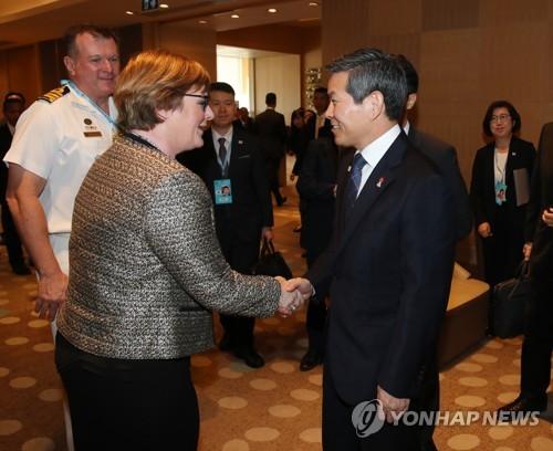 한-호주 10일 외교·국방장관 회의…신남방·태평양전략 논의