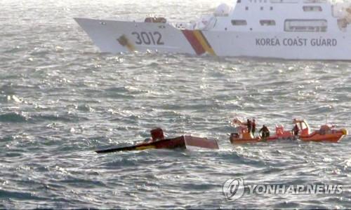 사고 19일 만에 대성호 선원 추정 시신 2구 발견(종합)