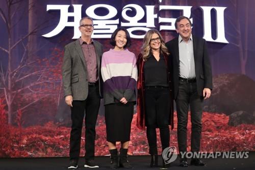 """'겨울왕국2' 감독 """"여성캐릭터만으로 영화 이끌 수 있어""""(종합)"""