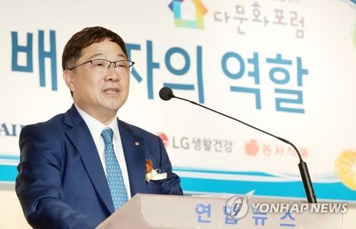 """장영식 도쿄상의 회장 """"장학사업으로 다문화 인재 육성"""""""