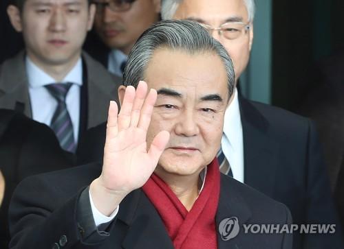 """왕이 """"中 부흥 누구도 못 막아…패권주의론 인심 못 얻어"""""""