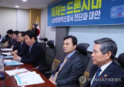"""정경두 """"드론, 미래전장 핵심무기…디지털 강군 건설 매진"""""""
