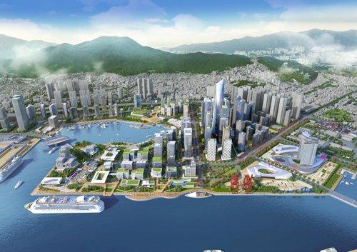 부산시 북항 2단계 재개발사업 직접 참여 추진