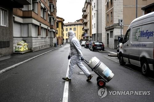 """""""이탈리아 코로나19 확산세 정점 도달"""" 당국자 첫 언급"""