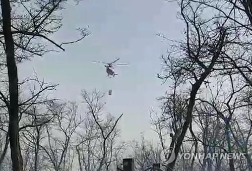 인천 축곶산 화재 2시간 만에 진화…임야 3천㎡ 타(종합)