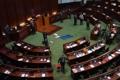 야당의원 '썩은 화초'에 국가법 심의 중단한 홍콩 의회