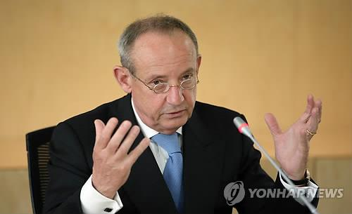 Yvo de Boer, director-general of the Global Green Growth Institute (Yonhap)