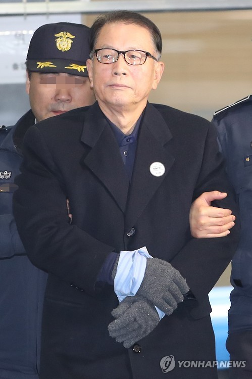 김기춘 전 대통령 비서실장